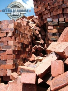 Builders junk - bricks