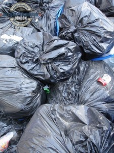 Pile of Rubbish Bags