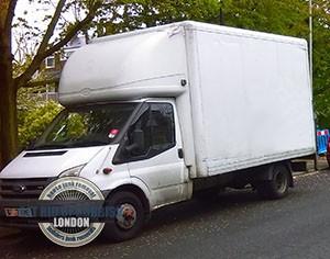 Newington-white-junk-truck