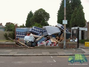 Fly-tipping in London